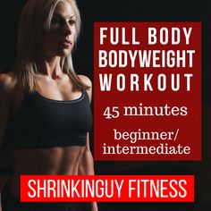 You have your own, personal, portable gym built within your body.  You can get as good a workout just using your own body weight as going to the gym and using the machines or free weights.  For this post, I'll focus on six exercises that require no equipment, or just a chair.