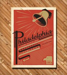 Philadelphia Print by Anderson Design Group on Scoutmob Shoppe