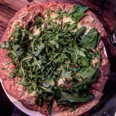 Finally made it to @milltown_bar last night. What a great place! Staff is super friendly and attentive and the food and drinks are delicious. I had the wild mushroom flatbread on a #glutenfree crust. $3.00 extra for the GF crust and worth every penny.  #pizza #vancouver #foodstagram #foodgasm #instagood #instafood #glutenfreelife #eat #cheatday #arugula #gorgonzola #carmelizedonions #flatbread #milltown #huffpostgram #pizza #mushroom #foodie by glutenfreeyvr
