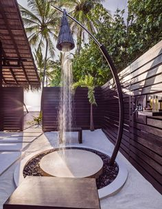 Reethi Rah Grand Sunset Residence Outdoor Shower