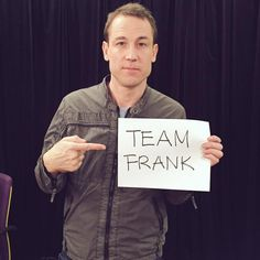 """Here's a new pic of Tobias Menzies. """"#Outlander fans, TobiasMenzies asks which Outlander_Starz Team are you on? Check back soon for more goodies!"""" Source: Yahoo TV"""