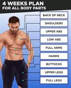 Get Ultimate 28 Days Meal & Workout Plan! Get Ultimate 28 Days Meal & Workout Plan! Gym Workouts To Lose Weight, Gym Workouts For Men, Gym Workout Videos, Gym Workout For Beginners, At Home Workouts, Workout Plan For Men, Fitness For Beginners, Ab Workout Men, Men Exercise