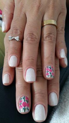 Flores feito a mão