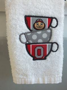 Ohio State Buckeyes 5 pc. Bathroom Set - Everything Buckeyes - OSU ...