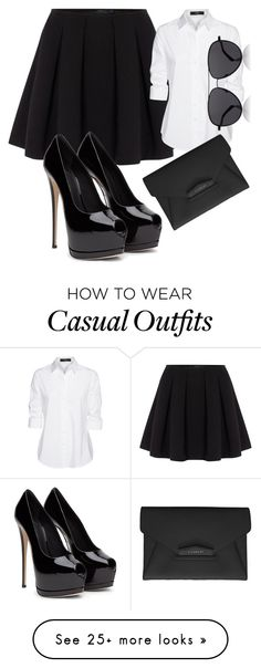 """casual fridays"" by pirate-belle on Polyvore featuring Polo Ralph Lauren, Steffen Schraut, Givenchy and The Row"