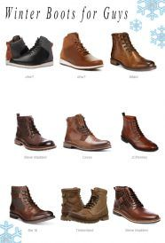 18 Winter Boots For Guys Who Love To Wear Stylish
