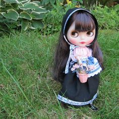 Meadow Maiden Blythe Doll Folk Dress Outfit | Brown Eyed Rose