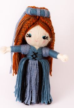 """Queen Guinevere from """"Yarn Whirled: Fairy Tales, Fables, and Folklore""""."""