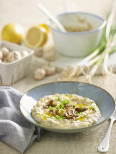 This delicious and nutritious savoury porridge is a perfect way to start your morning.