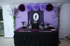 Rhina and Rhaissa's Maleficent Themed Party – 7th and 10th Birthday - Party Doll Manila