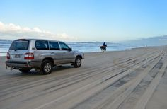 4x4 Tracks Brisbane - Expect to share the beach with others: http://www.traveltherenext.com/adventure/item/685-4wd-tracks-brisbane-nsw-five-great-drives  #seeaustralia #brisbane #4wd #tracking #roadtrip #4x4 #adventure #travel #traveltherenext