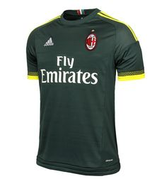 With the release of the new AC Milan 15-16 Third Kit this morning, Adidas and the Italian club have completed the set for the 2015-2016 season. The Adidas AC Milan 2015-16 Home and Away Shirts introduce traditional designs for the Rossoneri and were already launched earlier this summer.