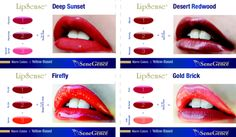One of the great things about LipSense is that you can create your own custom colors using the layering technique.  The possibilities are endless!