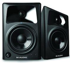 M-Audio AV42 | 20-Watt Compact Studio Monitor Speakers with 4-inch Woofer (Pair)
