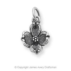 Dogwood Flower Charm: James Avery I want. New Charmed, James Avery, Diamonds And Gold, Diamond Are A Girls Best Friend, Silver Charms, Gifts For Mom, Jewelry Design, Designer Jewelry, Jewelery