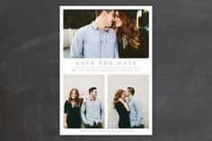 The Simple Things Save The Date Cards by Giselle Zimmerman at minted.com