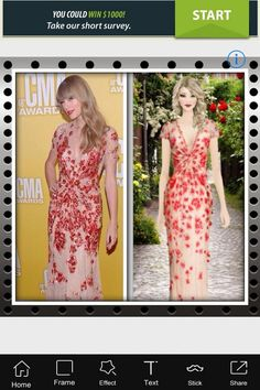 #covetspotting Taylor Swift wearing #Jovani Floral Applique Gown spotted by DannaS23