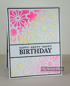 Celebrate You, Floral Fusion Cover-Up Die-namics - Michele Boyer #mftstamps