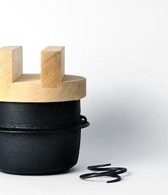 Cast iron rice cooker | Nambu Ironware by Nobuho Miya [ Kamasada] - Analogue