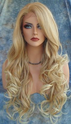 Lace Front Wig CLR T27.613 SOFT LONG FLOWING WAVES SEXY FAST SHIP US SELLER 164 #SEPIA #LaceFront