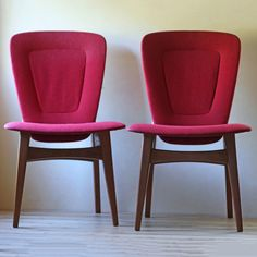 (16) Fab.com | Modern Upholstered Chairs Pair