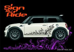 SIGN MY RIDE CUSTOM GRAPHICS - SIDE STRIPES