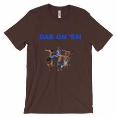Unisex short sleeve t-shirt Dab dab