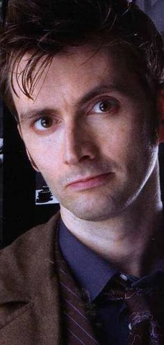 Hurry David Tennant needs your votes!  He's currently falling behind.