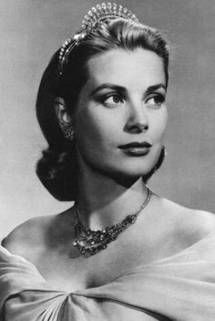 Princess Grace of Monaco. Portrait by Yousuf Karsh.