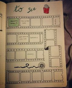I think i would buy a dotted moleskin just so i could do a spread like this!
