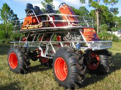 Swamp Buggy in Labelle Florida