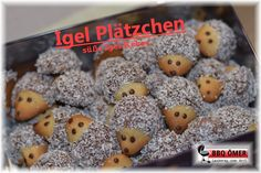 Hedgehog cookies biscuits go all year round - in the Christmas season, everyone . - Hedgehog cookies biscuits go all year round – however Christmas cookies are more in demand – ho - Cookie Salad, Easy Smoothie Recipes, Snack Recipes, Hedgehog Cookies, Le Diner, Pumpkin Spice Cupcakes, Fall Desserts, Ice Cream Recipes, Easy Snacks