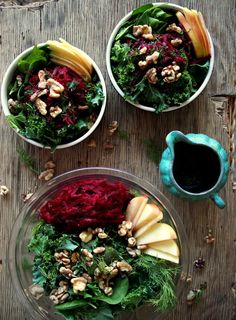 A Collection Of The Most Delicious Kale Salads -