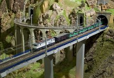 Consejos para fotografiar maquetas de trenes