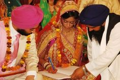 Rituals in a Sikh Wedding