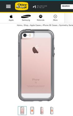 Symmetry Seires Clear Case by Otter Box.                                                                                                                                                                                 More