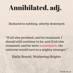 #Onthisday Emily Brontë was born in 1818!  Our #wordoftheday comes from her novel Wuthering Heights.  #HappyBirthday