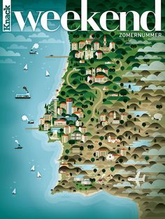 Portugal, map created by KHUAN+KTRON for the lifestyle magazine Weekend Knack Design Thinking, Monday Inspiration, Design Inspiration, Map Of New York, Famous Castles, Vintage Disneyland, Map Design, Graphic Design, Portugal Travel