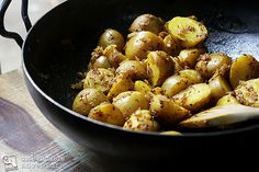 Cumin Seed Potatoes | Batata b'kamun #side_dish #spisskummenfroe # ...