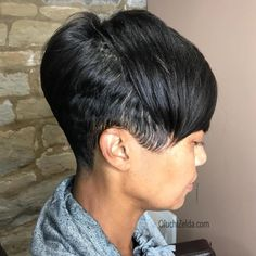 Today we have the most stylish 86 Cute Short Pixie Haircuts. We claim that you have never seen such elegant and eye-catching short hairstyles before. Pixie haircut, of course, offers a lot of options for the hair of the ladies'… Continue Reading → Short Pixie Haircuts, Pixie Hairstyles, Short Hairstyles For Women, Weave Hairstyles, Short Hair Cuts, African American Short Hairstyles, Medium Hairstyles, African Hairstyles, Trendy Hairstyles