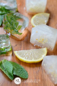 Lemon and Mint flavo