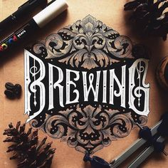 Fantastic lettering by @alfonsusabim - #typegang - free fonts at typegang.com   typegang.com #typegang #typography