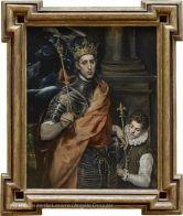 Saint Louis, roi de France, et un page | Musée du Louvre | Paris