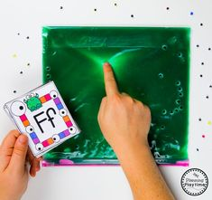 Writing Centers Sensory Bag - Monster Theme Letter I Activities, Preschool Learning Activities, Preschool Themes, Fun Math, Preschool Activities, Preschool Worksheets, Alphabet Worksheets, Winter Activities, Halloween Worksheets
