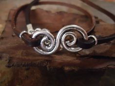 INFINITE leather wrap bracelet or necklace by AsaiBolivien on Etsy, $8.90