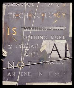 BARNBROOK Technology is Nothing More Than a Process Not an End in Itself