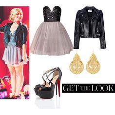 """Get The Look:Demi Lovato"" by hannahbanana3233 on Polyvore"