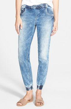 Women's Mavi Jeans 'Aubrey' Drawstring Denim Pants