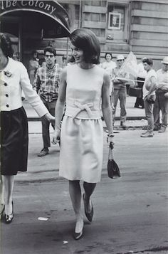 Leaving the Colony Club, 1965.
