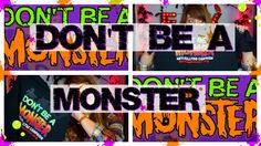 HALLOWEEN HAPPY// DON'T BE A MONSTER!!!!!!